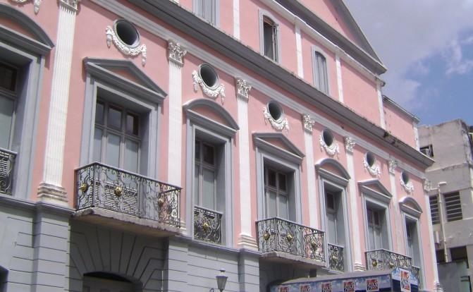 Restauro Teatro Arthur Azevedo foto Fernando Diniz